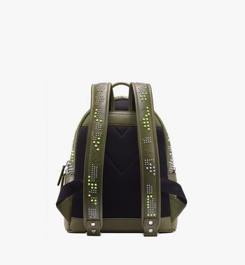 MCM Stark Backpack in Studded Lion Camo Alternate View 3