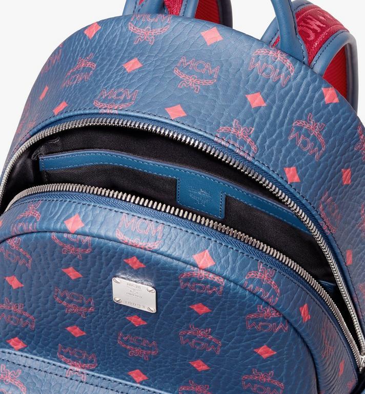 MCM Stark Backpack in Visetos  MMK9AVE51VS001 Alternate View 4