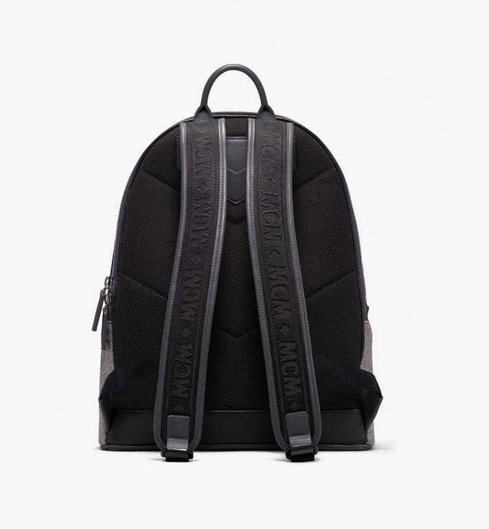 MCM Stark Loden Backpack Grey MMK9AVE52EP001 Alternate View 3