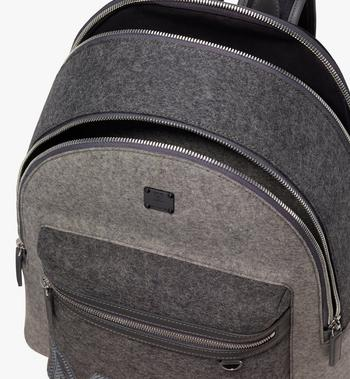 MCM Stark Loden Backpack Grey MMK9AVE52EP001 Alternate View 4