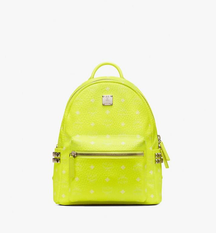MCM Stark Backpack in Neon Visetos Alternate View 1