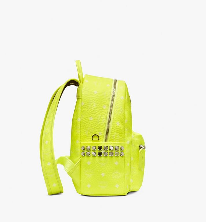MCM Stark Rucksack in Neon Visetos  MMK9AVE56YN001 Alternate View 2