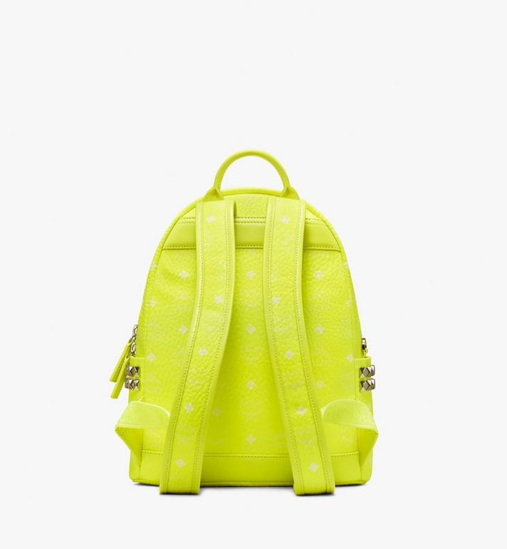 MCM Stark Rucksack in Neon Visetos  MMK9AVE56YN001 Alternate View 3