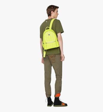MCM Stark Backpack in Neon Visetos Alternate View 5