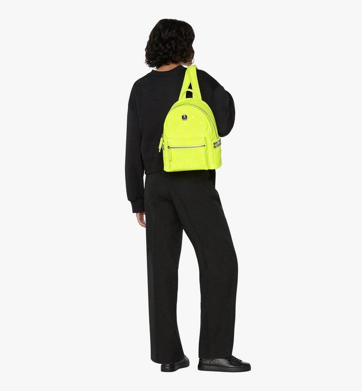 MCM Stark Rucksack in Neon Visetos  MMK9AVE56YN001 Alternate View 6