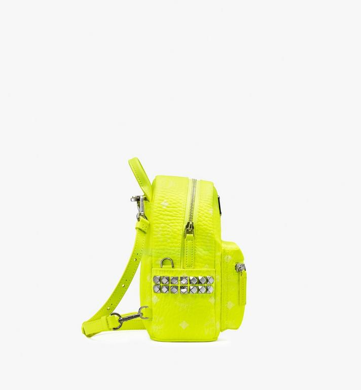MCM Stark Rucksack in Neon Visetos  MMK9AVE66YN001 Alternate View 2