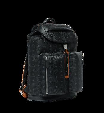 MCM Kreuzberg Backpack in Visetos MMK9SGE02BK001 AlternateView2