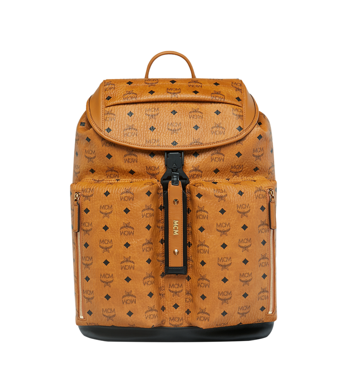 MCM Kreuzberg Backpack in Visetos Alternate View
