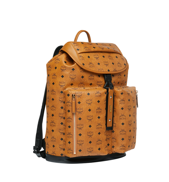MCM Kreuzberg Backpack in Visetos Alternate View 2