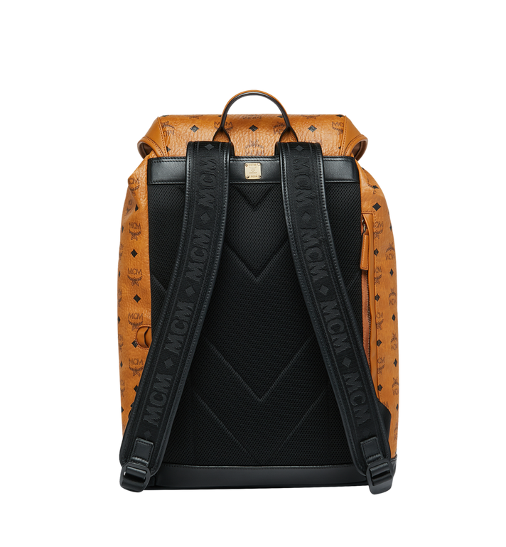 MCM Kreuzberg Backpack in Visetos Alternate View 4