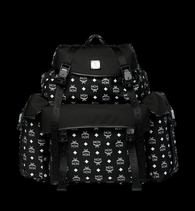 MCM Luft Multi-Pocket Backpack in Nylon Alternate View