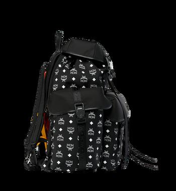 MCM Luft Multi-Pocket Backpack in Nylon Alternate View 3