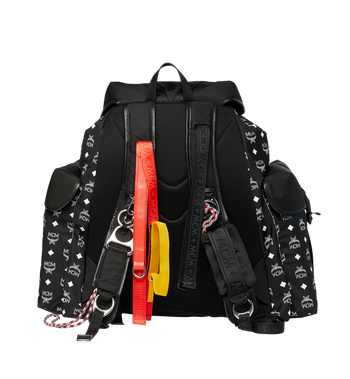MCM Luft Multi-Pocket Backpack in Nylon Alternate View 4