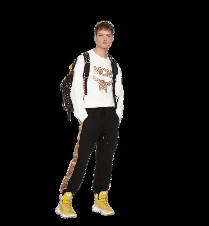 MCM Luft Multi-Pocket Backpack in Nylon Black MMK9SNX30BK001 Alternate View 7
