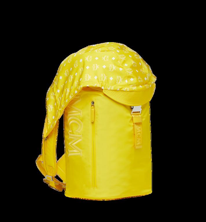 MCM Luft Kapuzen-Rucksack aus Nylon Yellow MMK9SNX33YW001 Alternate View 2