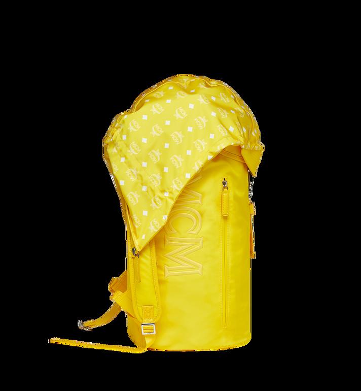 MCM Luft Kapuzen-Rucksack aus Nylon Yellow MMK9SNX33YW001 Alternate View 3