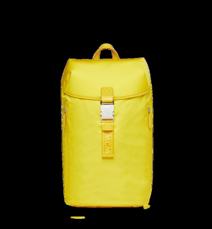 MCM Luft Kapuzen-Rucksack aus Nylon Yellow MMK9SNX33YW001 Alternate View 5