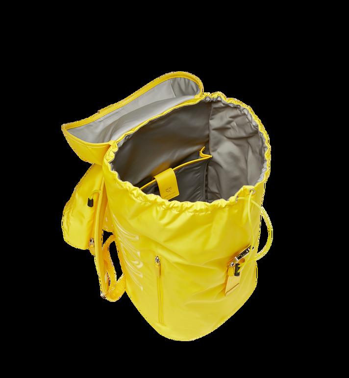 MCM Luft Kapuzen-Rucksack aus Nylon Yellow MMK9SNX33YW001 Alternate View 6