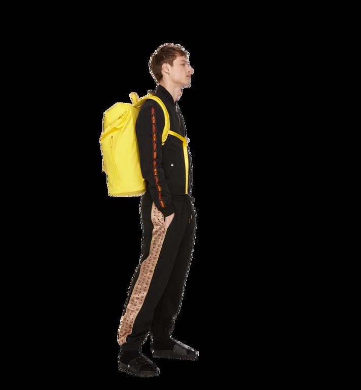 MCM Luft Kapuzen-Rucksack aus Nylon Yellow MMK9SNX33YW001 Alternate View 8
