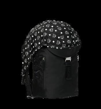 MCM Luft Hoodie Backpack in Nylon Alternate View 2