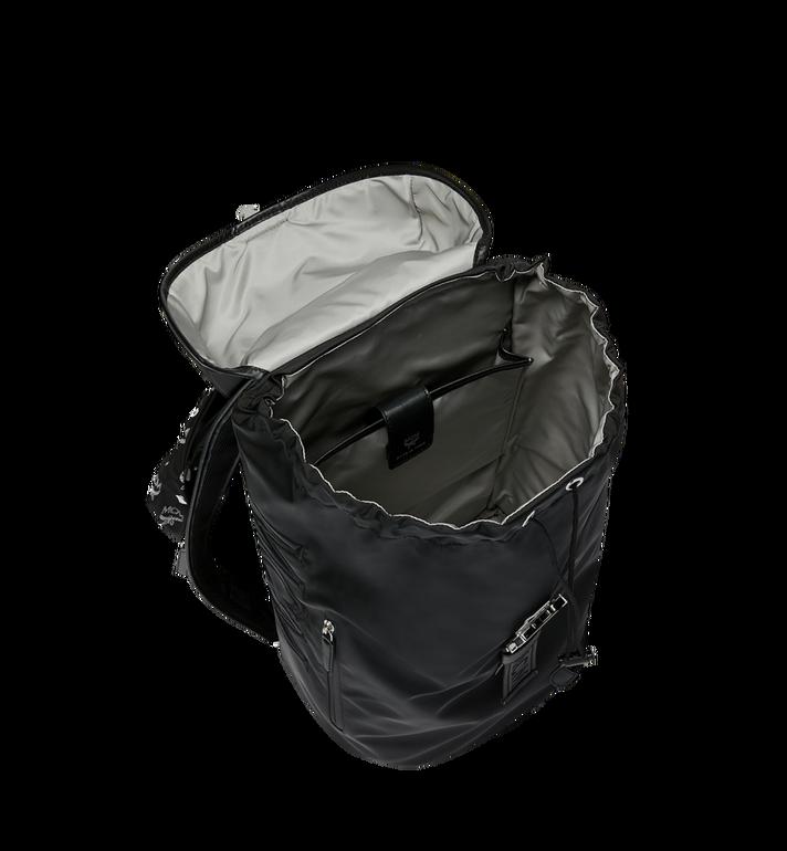 MCM Luft Hoodie Backpack in Nylon Black MMK9SNX34BK001 Alternate View 6