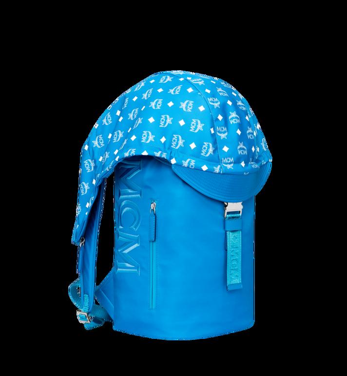 MCM Luft Kapuzen-Rucksack aus Nylon Blue MMK9SNX34HI001 Alternate View 2