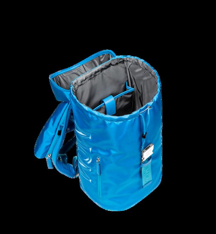 MCM Luft Kapuzen-Rucksack aus Nylon Blue MMK9SNX34HI001 Alternate View 6