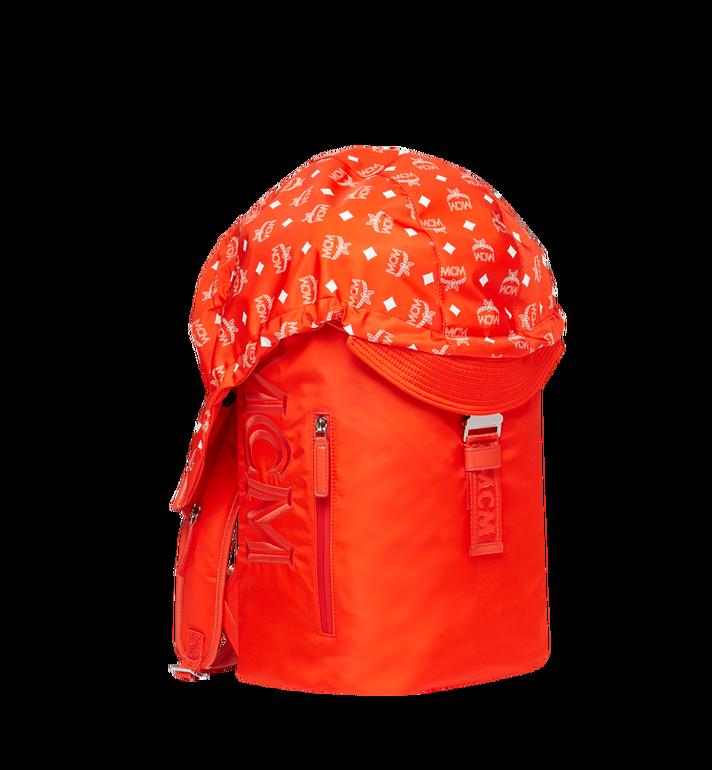 MCM 루프트 나일론 후디 백팩 Orange MMK9SNX34OX001 Alternate View 2
