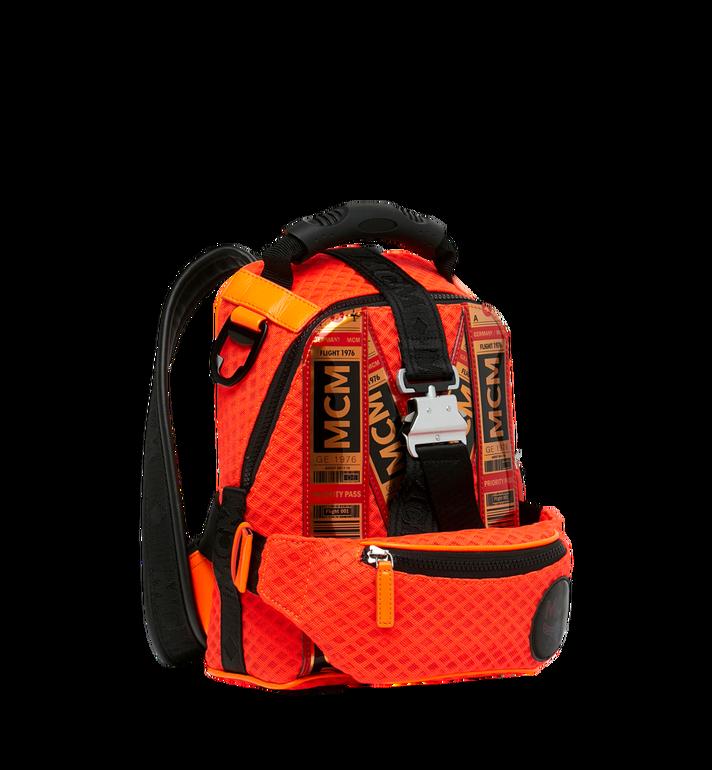 MCM 루프트 컬렉션 포 피띠워모 투인원 메쉬 백팩 Orange MMK9SNX72OW001 Alternate View 2