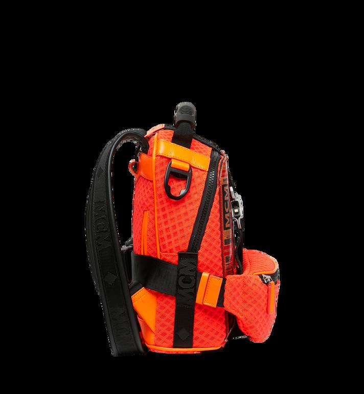MCM 루프트 컬렉션 포 피띠워모 투인원 메쉬 백팩 Orange MMK9SNX72OW001 Alternate View 3