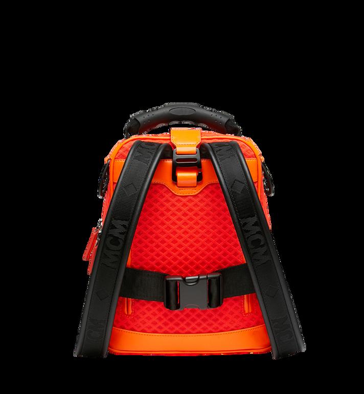 MCM 루프트 컬렉션 포 피띠워모 투인원 메쉬 백팩 Orange MMK9SNX72OW001 Alternate View 4