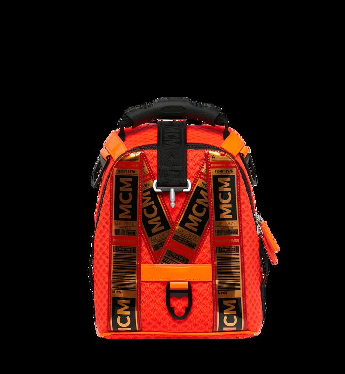 MCM 루프트 컬렉션 포 피띠워모 투인원 메쉬 백팩 Orange MMK9SNX72OW001 Alternate View 5