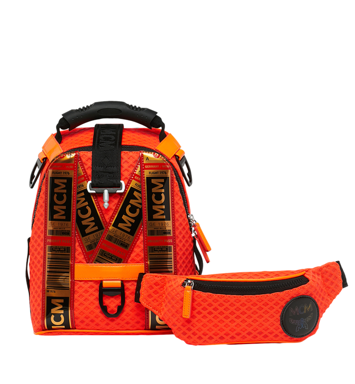 MCM Jemison 2-in-1 Rucksack aus Meshmaterial AlternateView6