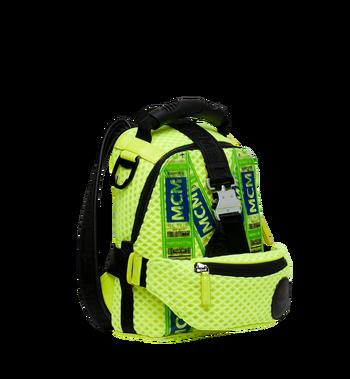 MCM Jemison 2-in-1 Backpack in Mesh Yellow MMK9SNX72YN001 Alternate View 2