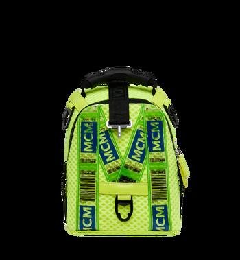 MCM Jemison 2-in-1 Backpack in Mesh Yellow MMK9SNX72YN001 Alternate View 5