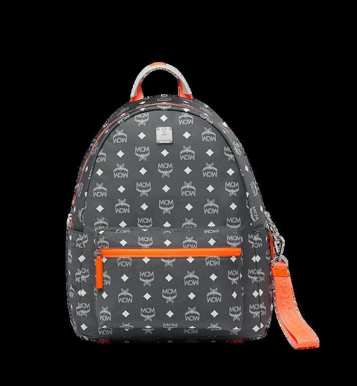 MCM Resnick Backpack in White Logo Nylon Alternate View