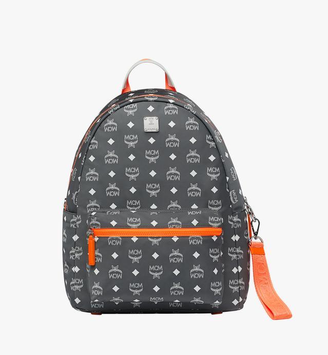Resnick Backpack in White Logo Nylon