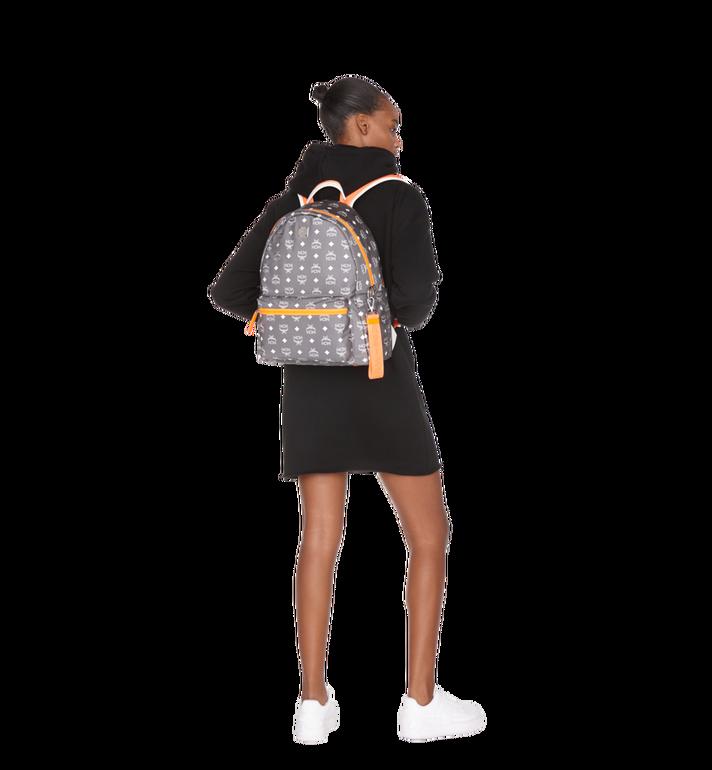 MCM Resnick Backpack in White Logo Nylon Alternate View 6