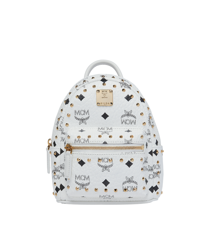 753f305fd6fb MCM Stark Bebe Boo Backpack in Studded Outline Visetos Alternate View