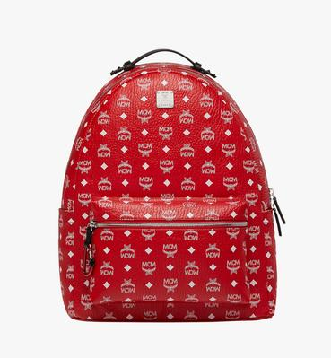 Stark Backpack in White Logo Visetos
