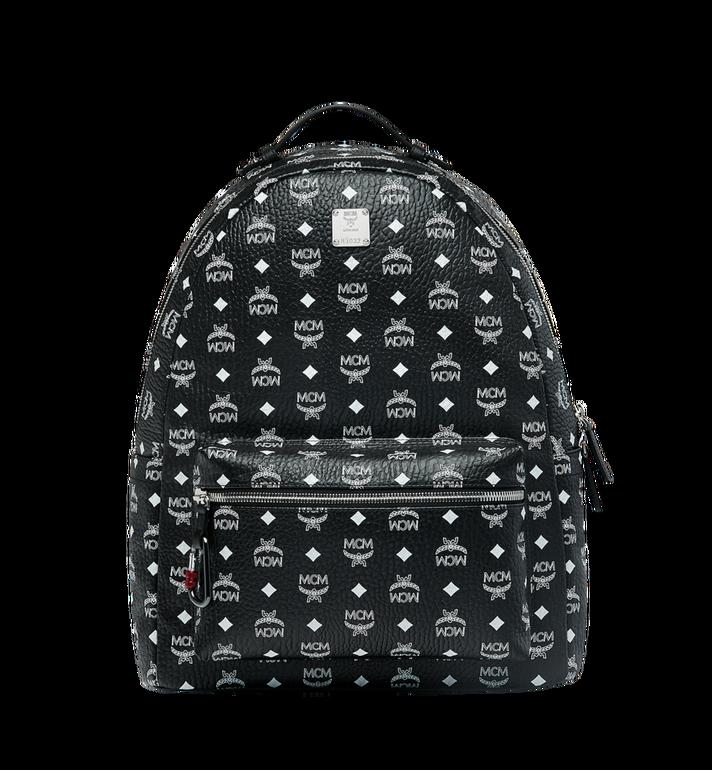 MCM Stark Backpack in White Logo Visetos MMK9SVE06BV001 AlternateView