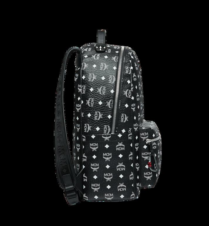 MCM Stark Backpack in White Logo Visetos MMK9SVE06BV001 AlternateView3