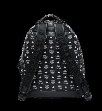 MCM Stark Backpack in White Logo Visetos MMK9SVE06BV001 AlternateView4