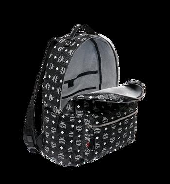 MCM Stark Backpack in White Logo Visetos MMK9SVE06BV001 AlternateView5