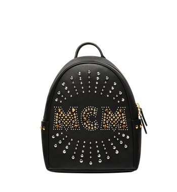 MCM Stark Backpack in Radial Stud Leather AlternateView