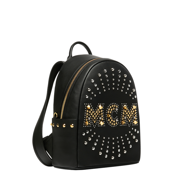 MCM Stark Backpack in Radial Stud Leather Alternate View 2