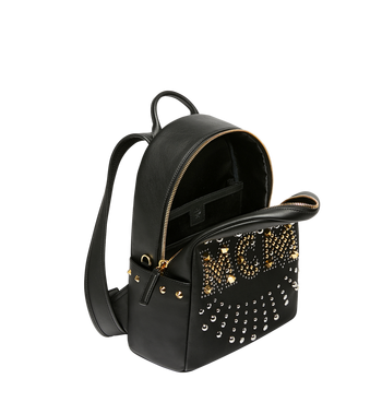 MCM Stark Backpack in Radial Stud Leather AlternateView5