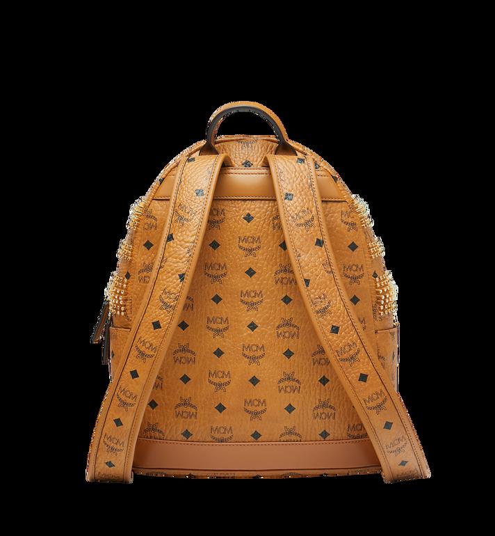MCM Stark Backpack in Graded M Studs Visetos Alternate View 4