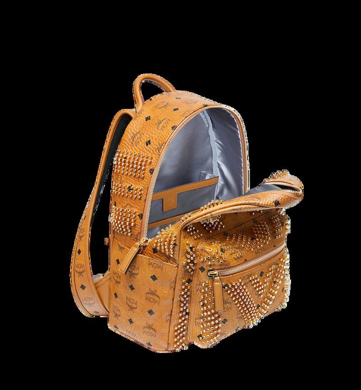 MCM Stark Backpack in Graded M Studs Visetos Cognac MMK9SVE20CO001 Alternate View 5