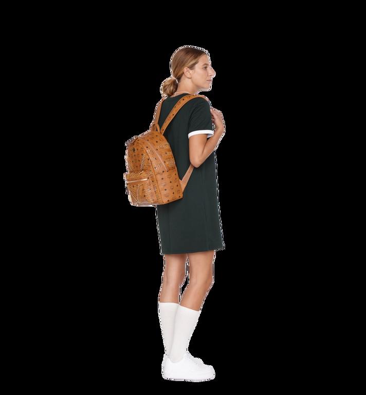 MCM Stark Backpack in Graded M Studs Visetos Alternate View 6